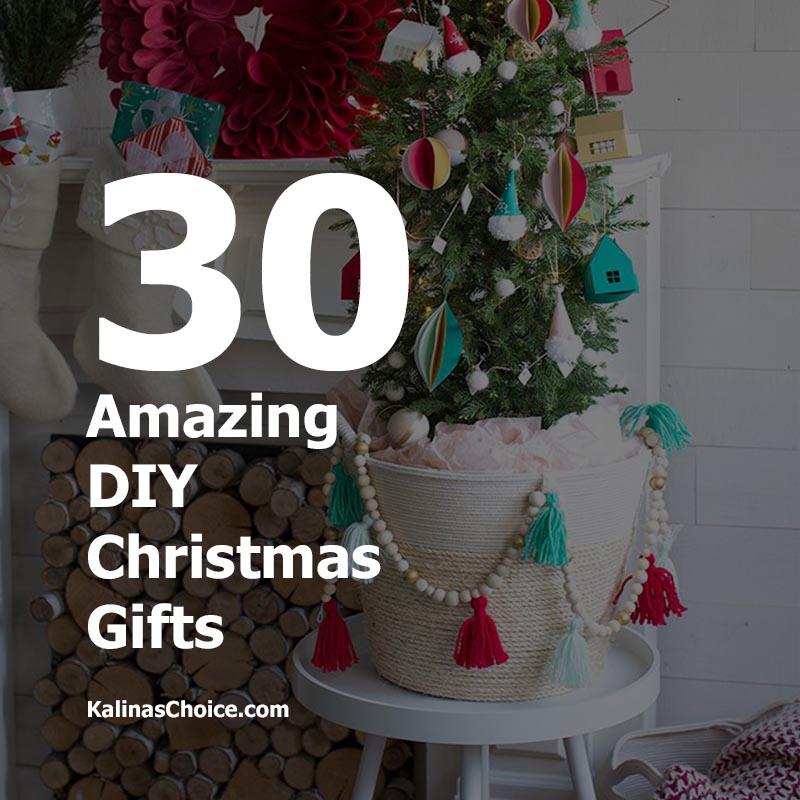 amazing diy christmas gifts homemade